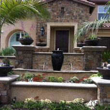 Traditional Exterior by Mclaughlin Landscape Construction