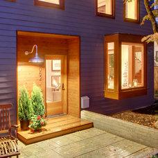 Contemporary Exterior by Bakken Design Build