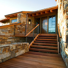 Contemporary Exterior by Dann Coffey Photography