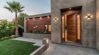 Front Entry Door | Urban Oasis Complete Home Remodel | Studio City, CA