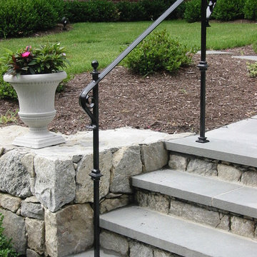 Front Entry Exterior Railings