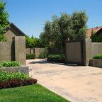 Front Entry Gate - Contemporary - Landscape - Sacramento ...