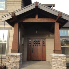Exterior by Hutchinson Home Builders