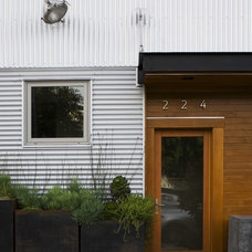 Contemporary Exterior by McCoppin Studios