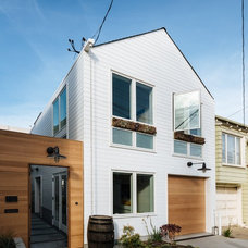 Contemporary Exterior by Aaron Gordon Construction, Inc.