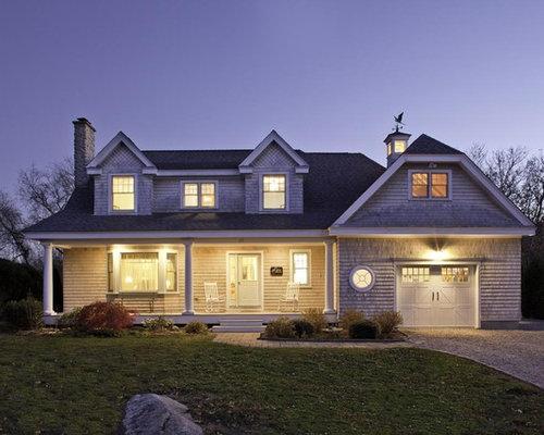 Dormer houzz - Two story gable roof houses ...