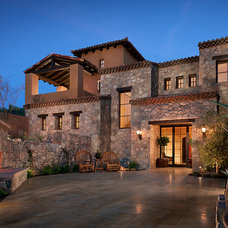 Mediterranean Exterior by CSE & Associates, INC.