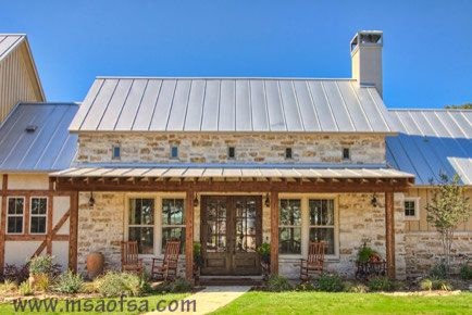 Custom home private road i boerne tx for Texas stone house plans