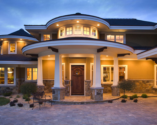 Exterior Pillars Home Design Ideas Pictures Remodel And
