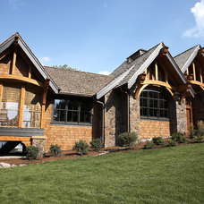Rustic Exterior by Karen Hodgdon, Allied ASID
