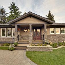 Contemporary Exterior by My House Design Build Team
