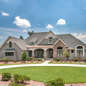Front Exterior of The Birchwood Plan #1239
