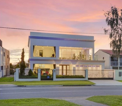 Traditional Exterior by Adrian Ramsay Design House