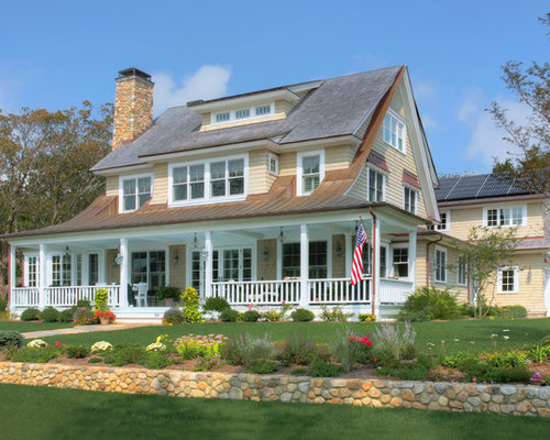 New england style ideas pictures remodel and decor for New england cottage style