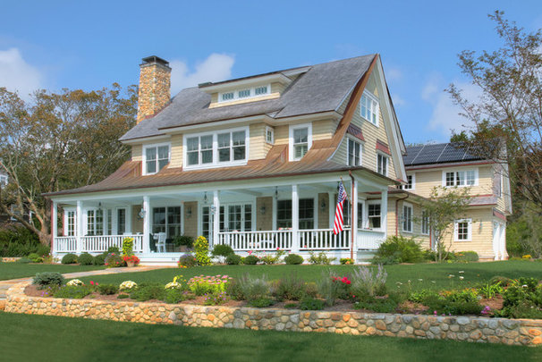 Traditional Exterior by CK Architects