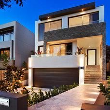 Contemporary Exterior by Sourcery Design