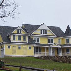 Traditional Exterior by Joseph Tatone & Associates, LLC