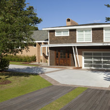 Midcentury Exterior by Tongue & Groove