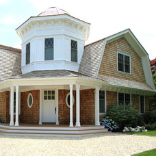 Traditional Exterior by Heartwood Corp