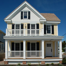 Traditional Exterior by David C. Bennett Architects LLC