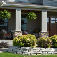 Craftsman Exterior by Echelon Builders, Inc.