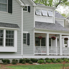 Traditional Exterior by Finecraft Contractors, Inc.