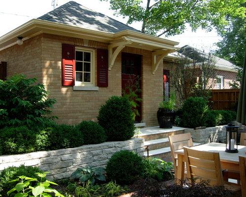 Exterior House Colors With Orange Brick orange brick house | houzz