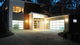 Front view of new residence in Doraville