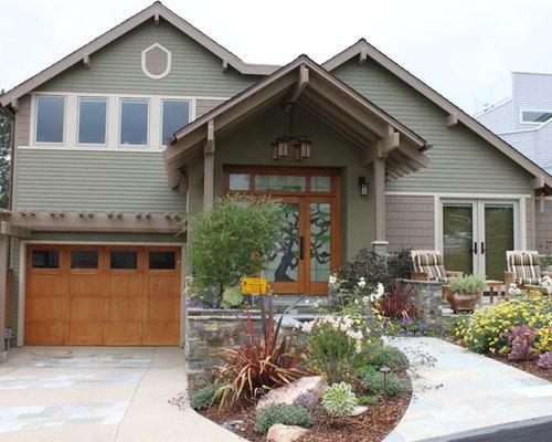 Craftsman James Hardie Siding Home Design Photos Decor Ideas