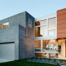 Contemporary Exterior by Walker Workshop