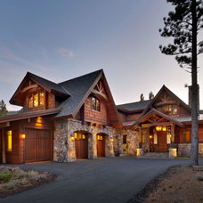 Traditional Exterior by Ward-Young Architecture & Planning - Truckee, CA