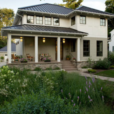 Transitional Exterior by Southview Design