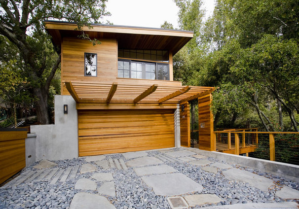 Contemporary Exterior by Fulcrum Structural Engineering