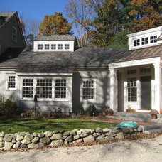 Traditional Exterior by Donelan Contracting