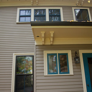 Example of a classic exterior home design in Boston