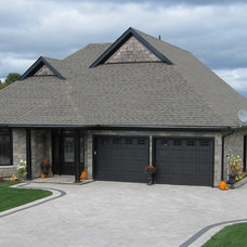 Traditional Exterior by Fusion Stone