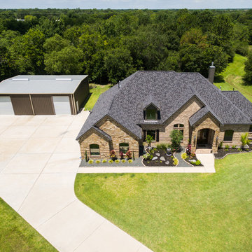 G.A.P. Custom Home Overhead Picture