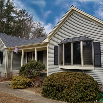 GAF Timberline HD Roofing System and Mastic Vinyl Siding, Mattapoisett, MA