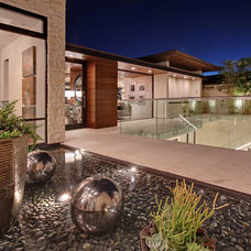 Contemporary Entry by Brandon Architects, Inc.
