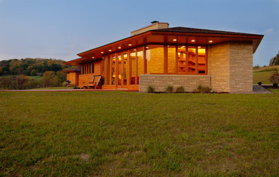 Houzz Tour: Usonian-Inspired Home With All the Wright Moves