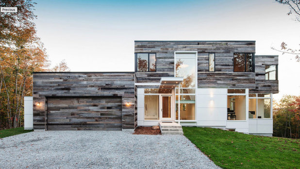 Contemporary Exterior by Architectural Windows and Doors Australia