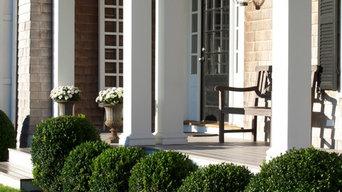Gambrel Front Porch
