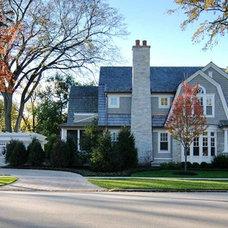 Traditional Exterior by Tiburon Homes LLC