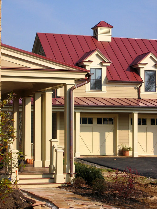 Red Metal Roof Houzz