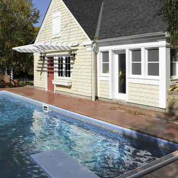 Garage & Pool