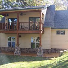 Traditional Exterior by R.C. CUSTOM CONSTRUCTION