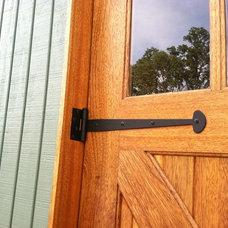 Exterior by Clingerman Doors - Custom Wood Garage Doors