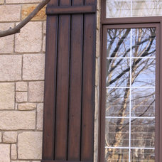 Traditional Exterior by Fauxs and Finishes
