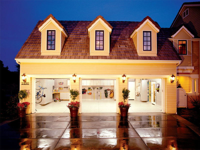 traditional exterior by Garage Envy