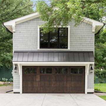 Garage Exterior Transformation - Halstead's Bay on Lake Minnetonka
